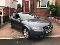 Audi A3 1.6 special edition (Astra, Corsa, bmw)