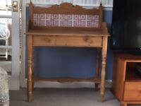 Antique washstand for sale.