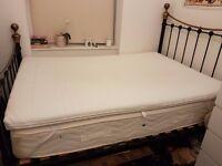 Ikea Tussöy mattress topper double memory foam