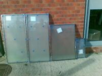 Double Glazed Window Glass Frosted new