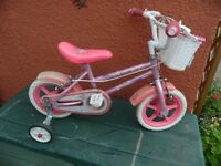 SPARKLE AND GLITZ GIRLS BIKE
