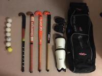 Complete hockey kit