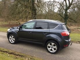 2008 Ford Kuga, MOT to August 2019, 4 wheel drive, Bluetooth, tow bar, 2 keys, tinted windows