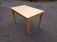 Solid Wood Ikea Table 120cm FREE DELIVERY 402a