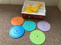 Fisher price music box record player. Baby toddler toy