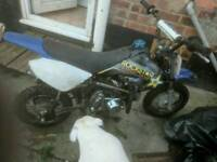Kid's 50cc geared field bike