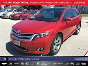 2015 Toyota Venza V6 AWD 6A | LOW KM | 1 OWNER | LOADED |
