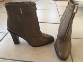 Olive size 8 ladies ankle boots