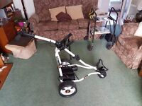 Golf stream DUO electric golf trolley with lithium battery