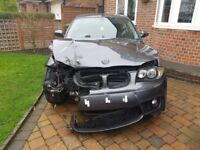 BMW 1 SERIES COUPE (ACCIDENT)
