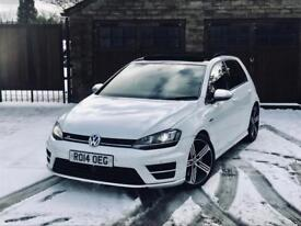 2014 VOLKSWAGEN GOLF R 2.0 TSI DSG AUTOMATIC FULLY LOADED TOP SPEC HPI CLEAR S3 C63 A45 M135I !!