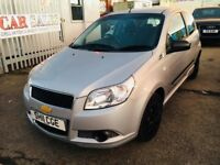 CHEVROLET AVEO1.2S PETROL MANUAL SILVER 3 DOORS LOW MILEAGE 46000 MILES FULL HISTORY 1 OWNER 2011