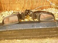 pair of vauxhall astra mk5 electric mirrors