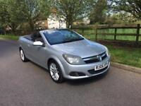 2006 Vauxhall Astra 1,8 litre 3dr convertible