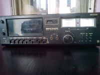 (Dolby system) Vintage RETRO ANTIQUE NATIONAL PANASONIC DECK 612 STEREO CASSETTE TAPE Player