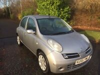 MICRA 1.5 DCI SE 5 DOOR 55 REG IN SILVER WITH FULL SERVICE HISTORY AND MOT SEPT,PETER 07867955762