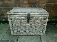 Large wicker storage basket. Perfect condition.