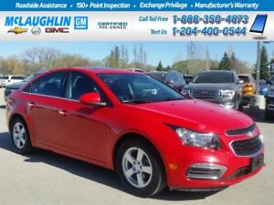 2015 Chevrolet Cruze *Rem Start *Htd Lthr *Back Up Cam *Bluetoot
