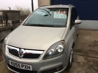 Vauxhall Zafira Design , 7 Seat with only 1 previous owner and 64,000 miles - Superb Condition