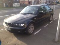 2005 BMW 320TD DIESEL 6 SPEED FULL LEATHER 2 OWNERS like merc skoda vw audi ford seat toyota honda
