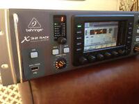 Behringer X32 Rack MINT Condition Console MIDAS. Digital Rack Desk