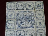 MAD O'ROURKE'S LITTLE PUB COMPANY TILES set of 16