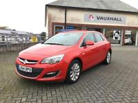 Vauxhall Astra ASTRA ELITE CDTI S/S (red) 2014