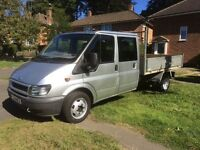 Great ford transit tipper