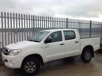 2010 TOYOTA HILUX D/C 2.5 D4-D HL2 MANUAL 4X4 WHITE ++ LOW MILEAGE!!! ++