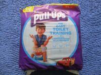 Nappies, Huggies Pull-Ups for easy toilet training, Jumbo Pack