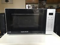 RRP£85 morphy richards 20l touch microwave with grill 800-900W