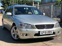 Lexus IS 200 2.0 Sport 5DR SUNROOF PARKING SENSOR FSH LONG MOT GREAT CONDITION