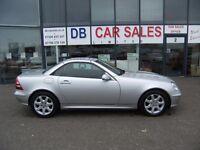 AUTOMATIC !! 2003 03 MERCEDES-BENZ SLK 3.2 SLK320 2D 218 BHP **** GUARANTEED FINANCE**** PART EX WEL
