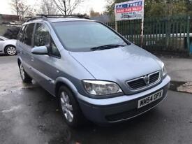 54 plate - Vauxhall zafira 2.0 DTI - diesel - 7 seater - 4 months mot - clean car