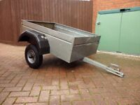 SMALL GALVANIZED TRAILER