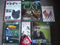 Pet Books Animal Books rabbit, G Pigs Chickens, Cats, Chipmunks etc