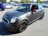 2011 MINI COOPER S MAGS TOIT PANORAMIQUE CUIR