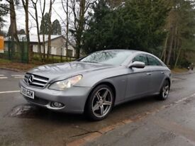 MERCEDES BENZ CLS350 GRAND EDITION CDI AUTO DIESEL COUPE SILVER LOW MILEAGE 2009