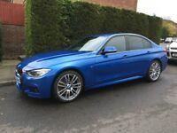 BMW 320D M Sport Plus | 190 bhp | 2015 (65) [Pro Media + Enhanced Bluetooth + Heated Front Seats]