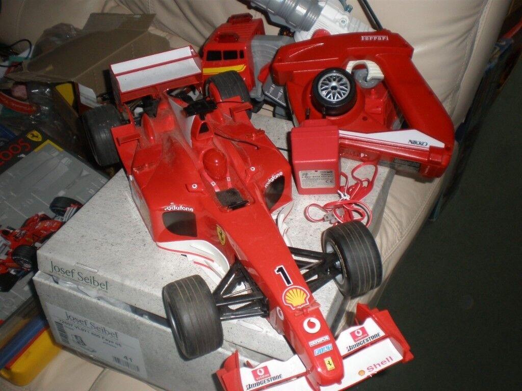 Nikko 1/10 Ferrari F1 car plus spare