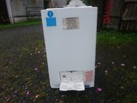 CENTRAL HEATING BOILER £40 Working fine when removed. Roughly 10 year old. No mounting plate
