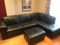 Violino Large 2 Piece Corner Sofa with Foot Rest With Storage RRP £2,200 - Moving House Sale!