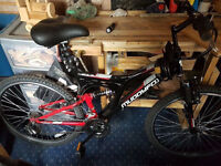 Muddyfox Bicycle (with helmet)