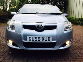 2008 (58) Toyota Auris 1.4 D-4D TR 5dr 2 OWNERS + FULL SERVICE HISTORY