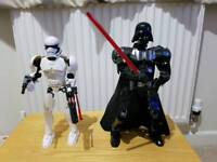 Lego Star Wars Darth Vader and Stormtrooper