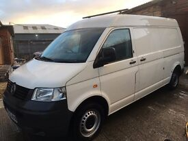 VW T32 TRANSPORTER LWB MEDIUM ROOF, 1.9tdi
