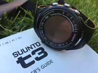 Suunto t3 training watch and heart rate monitor
