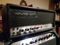 Sound City Regent 50 valve head