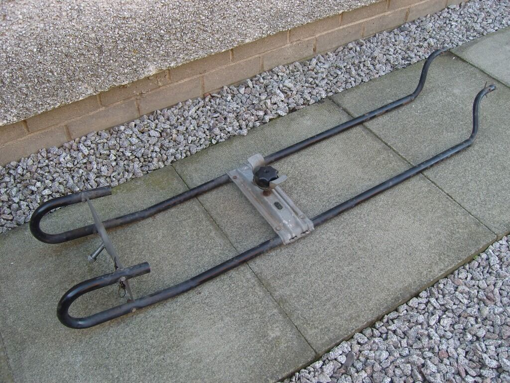 Alko Caravan Chassis Underslung Spare Wheel Carrier In