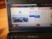 Peugeot Citroen diagnostics complete with netbook